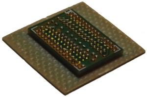 PCB facing side - probing DDR memory