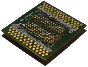 Chip facing side - probing DDR memory
