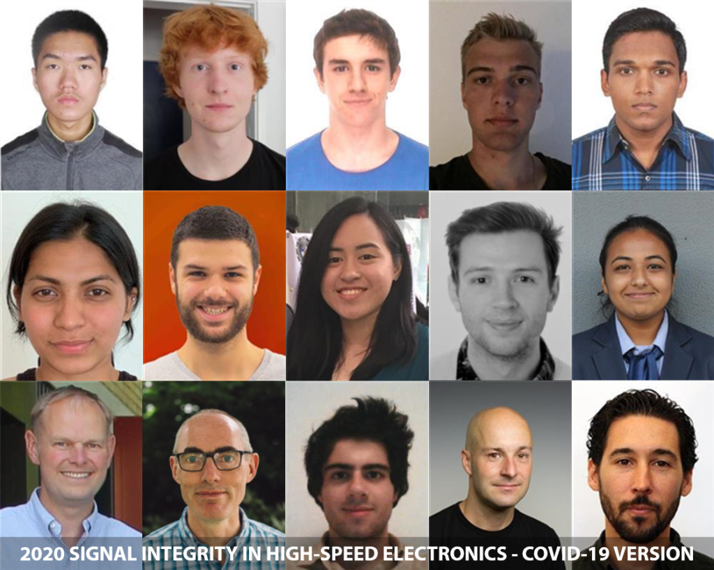 The 2020 university SI course, COVID-19 version. A great - and very diverse - group of students.