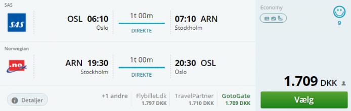 Flight information